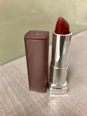 ColorSensational Creamy Matte Lipstick, $7.49 (Burgandy Blush)