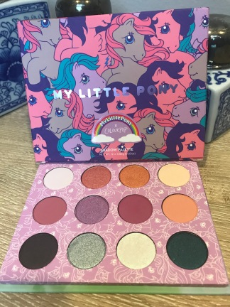 The My Little Pony palette