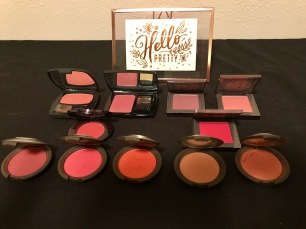 My single blushes