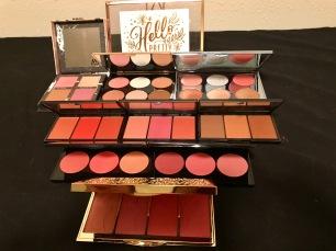 My blush palettes