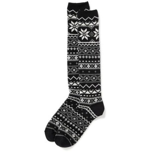 old-navy-fair-isle-boot-socks-for-women-size-one-size-black-snowflake