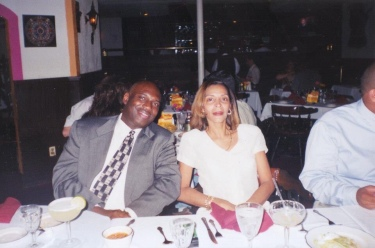 Mom and Dad at my cousins wedding.